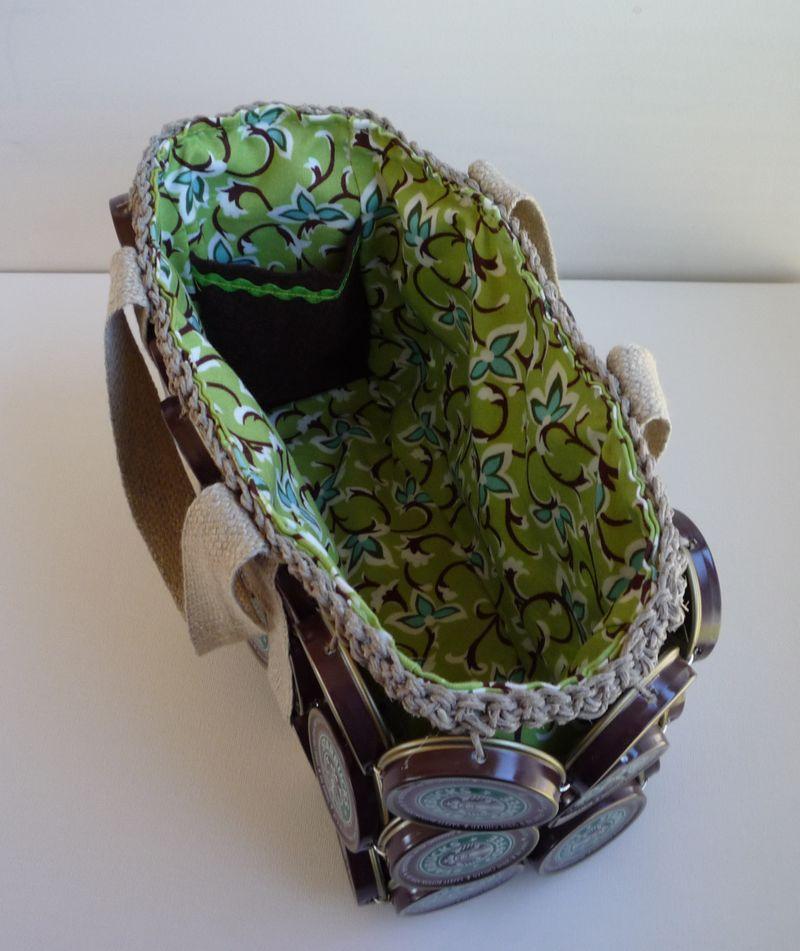 Inside frapp bag