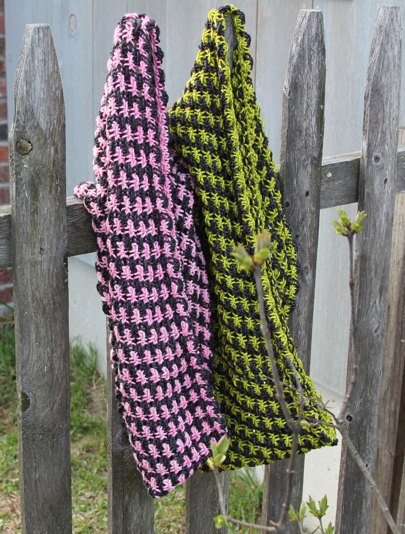 Cowls on fence