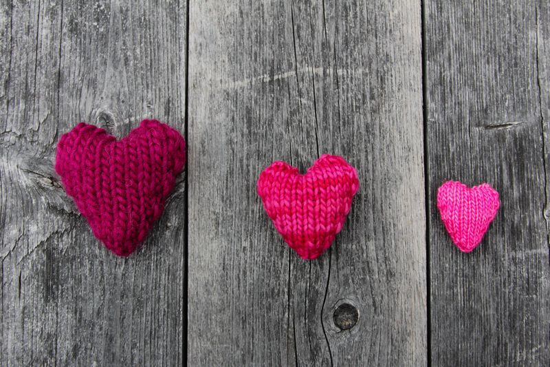 Knit Hearts Free Pattern by Ms. Ellaneous