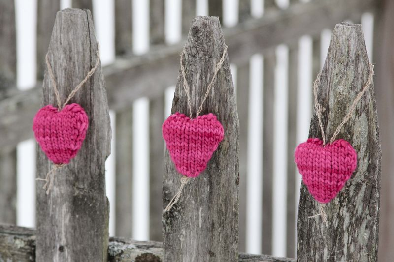 Knit Hearts by Ms. Ellaneous